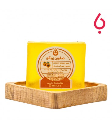 پن دستساز هسته زردآلو   Apricot Handmade Soap